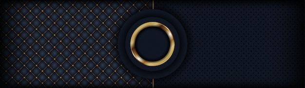 Abstract luxury dark background textured with combination shining Premium Vector