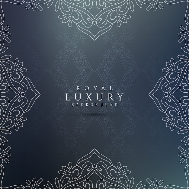Abstract luxury decorative background Free Vector