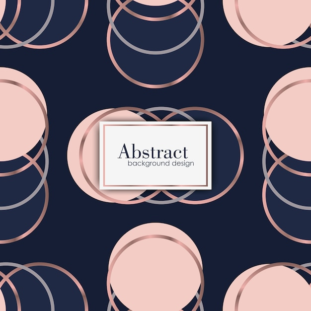 Abstract luxury geometric pattern. fashion background Free Vector