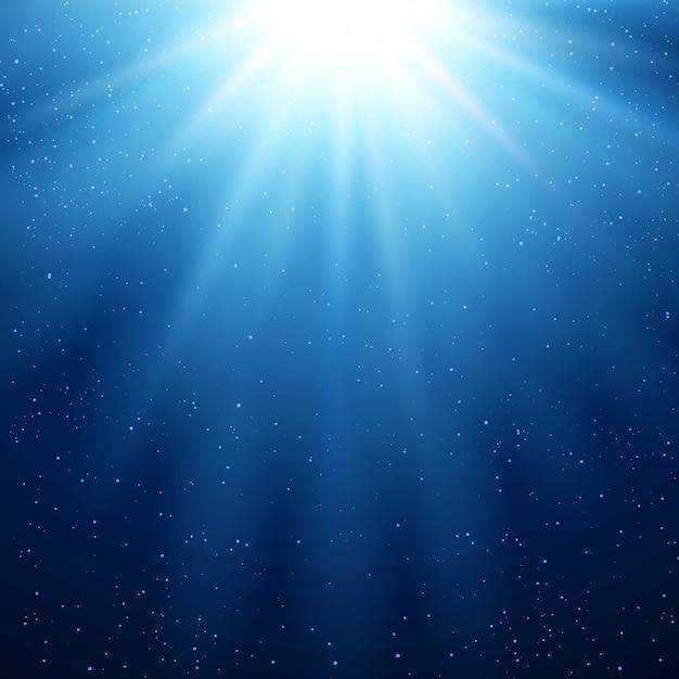 추상 마법의 빛 배경 프리미엄 벡터