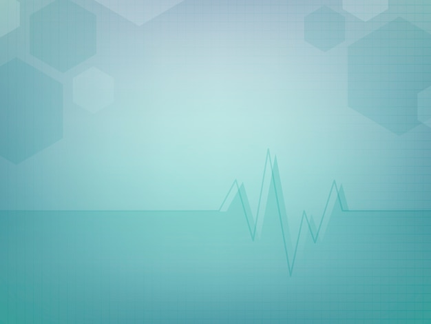 Abstract medical wallpaper template design Free Vector