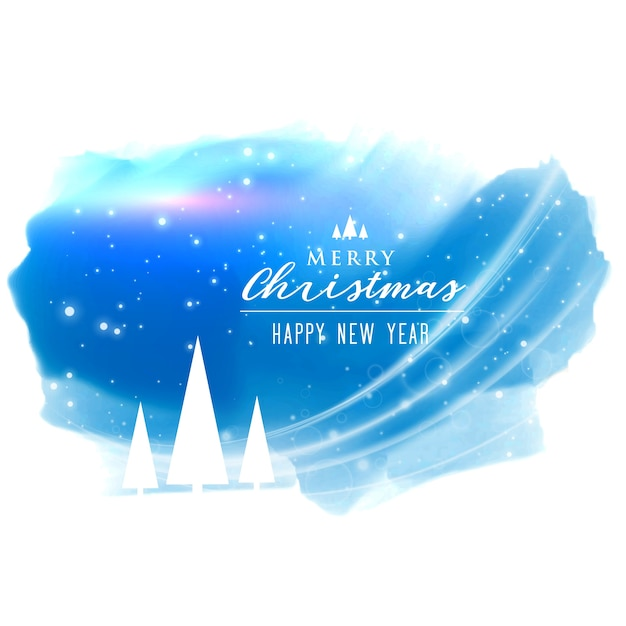 Abstract merry christmas background with light effect