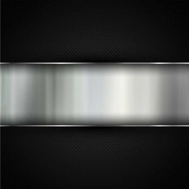 Beautiful Abstract Metal Background Free Vector