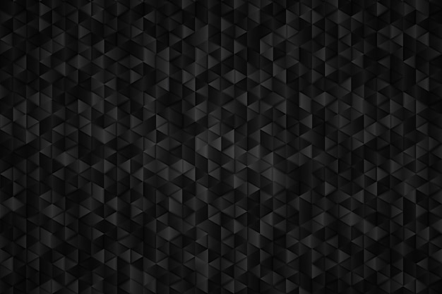 Abstract metal black of triangle geometric background. Premium Vector