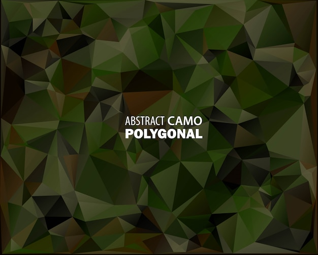 Abstract military camouflage background Premium Vector