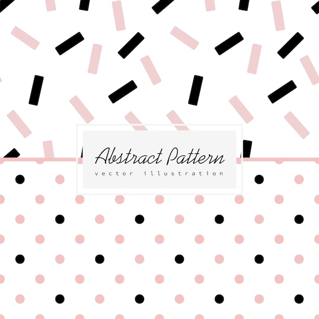 Abstract minimal pattern background Free Vector