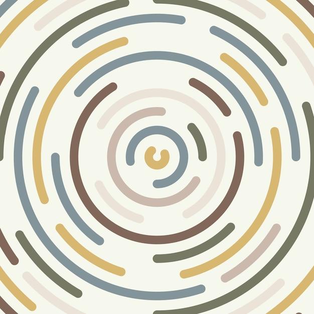 Premium Vector   Abstract Minimal Round Line Shape Element Pattern Artwork  Background.