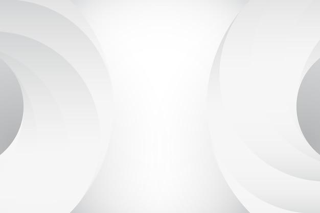 추상 최소한의 흰색 배경 프리미엄 벡터