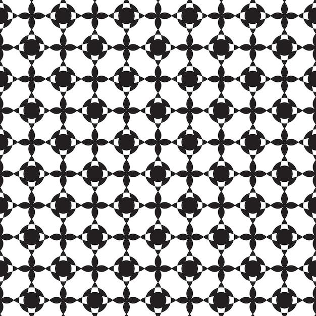 단색 스타일 그림에서 구조를 반복하는 추상 최소한의 그래픽 디자인 원활한 패턴 무료 벡터