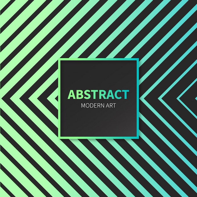 Abstract modern art background Free Vector