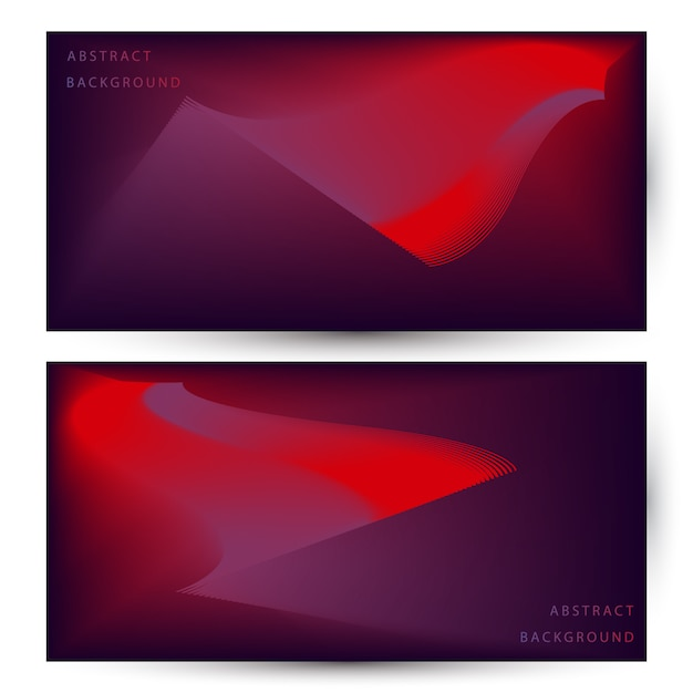 Abstract Modern Background Design With Red And Blue Gradient