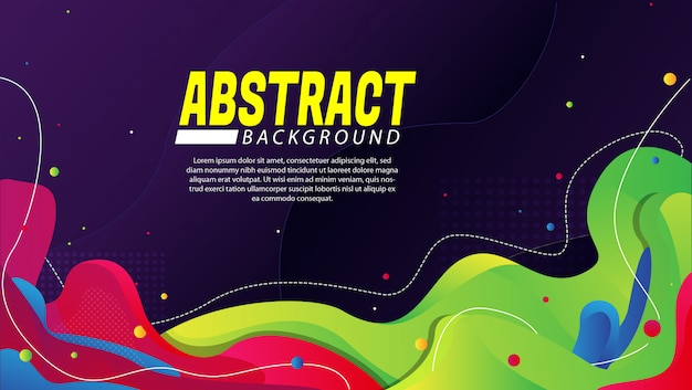 Abstract modern background with gradation color Premium Vector