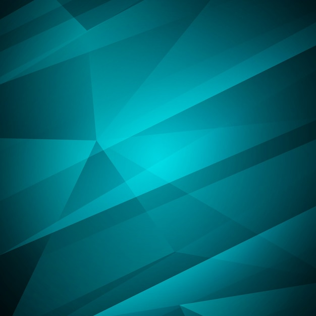 Abstract modern blue color geometric background