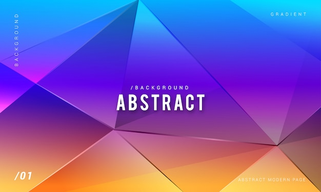 Abstract modern colorful background Premium Vector