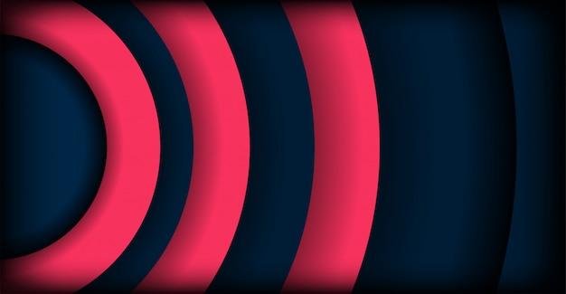 Abstract modern dark overlap layers background Premium Vector
