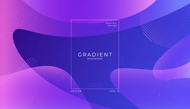 Abstract modern dynamic fluid background. Premium Vector