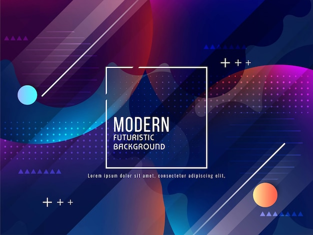Abstract modern futuristic background Free Vector