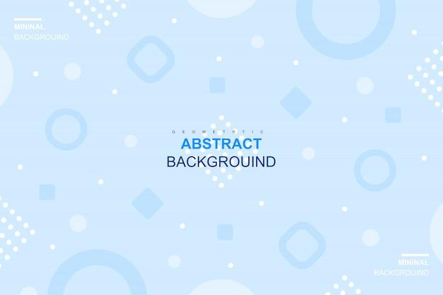 Abstract modern geometric background Premium Vector
