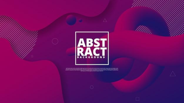 Abstract modern graphic element. Premium Vector