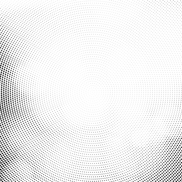 Abstract modern halftone background Free Vector