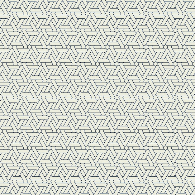Abstract modern hexagon pattern design of seamless background. illustration vector eps10 Premium Vector