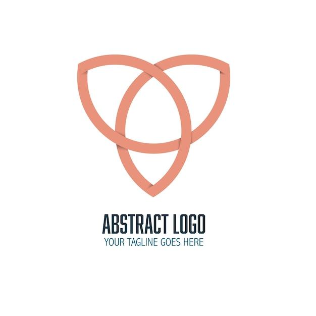 Abstract modern logo template