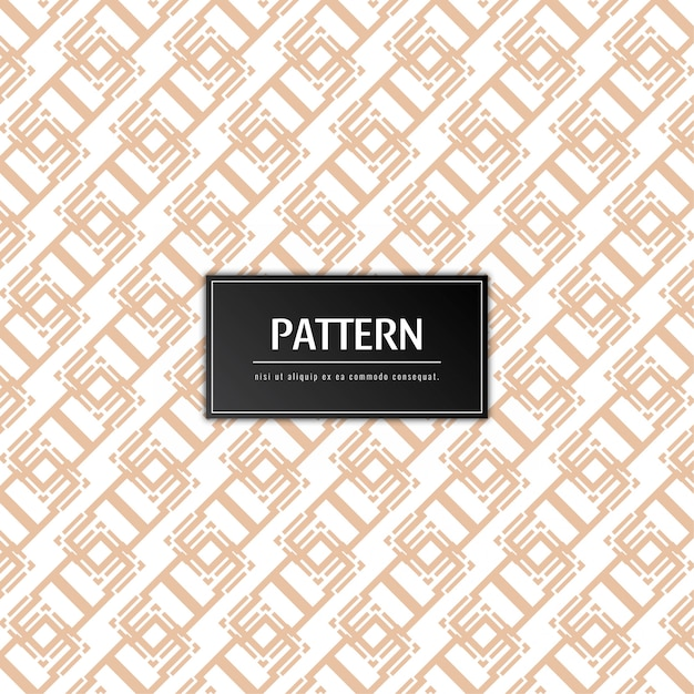 Abstract modern pattern background Free Vector