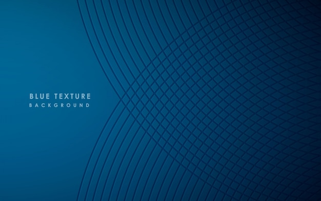 Abstract modern pattern of blue background Premium Vector