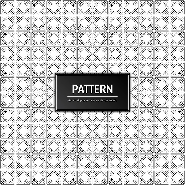 Abstract modern pattern Free Vector