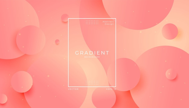Abstract modern round sphere shape background Premium Vector