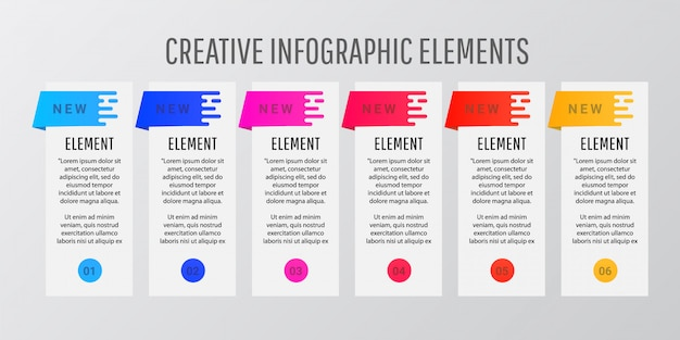 Abstract modern style design template layout. Premium Vector
