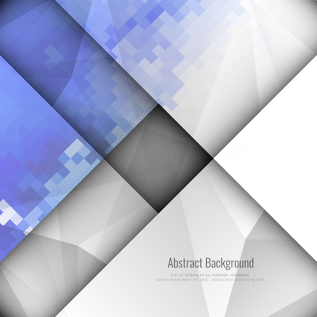 Abstract moderno geometric background design