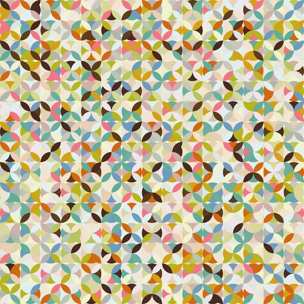 Abstract mosaic pattern Premium Vector