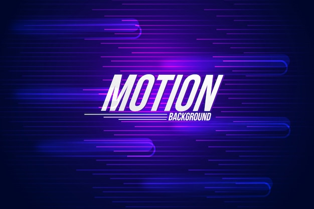 Abstract motion background Premium Vector