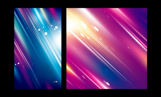 Abstract motion color background speed technology Premium Vector