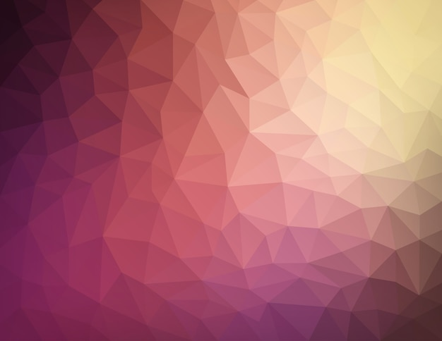 Abstract nature geometric triangular low poly background Premium Vector