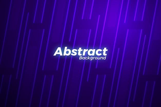 Abstract neon background design Premium Vector