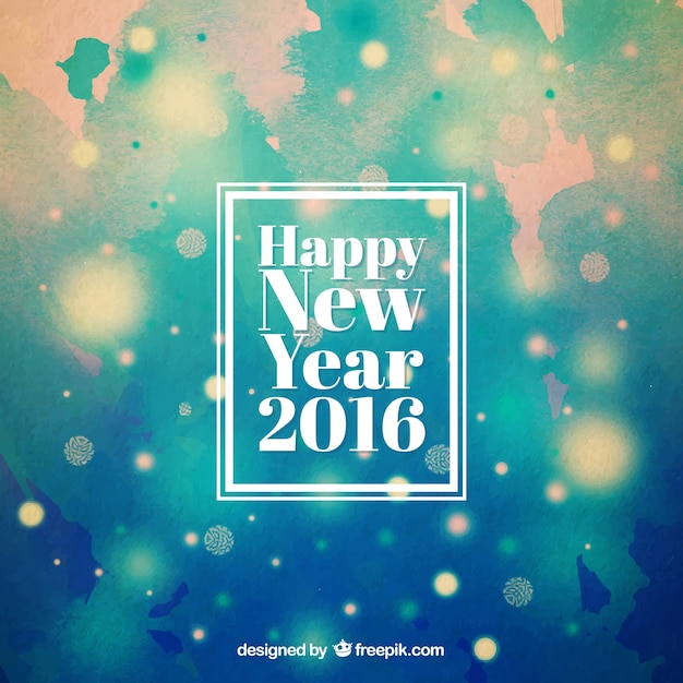 abstract new year 2016 background free vector