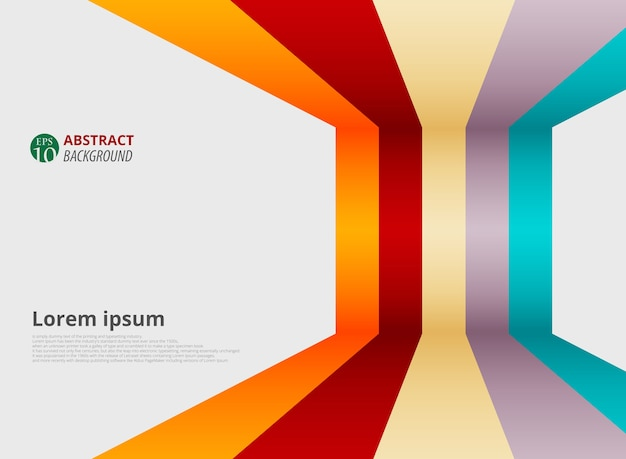Line Design Images : Abstract of gradient colorful strip line patterns presenting in