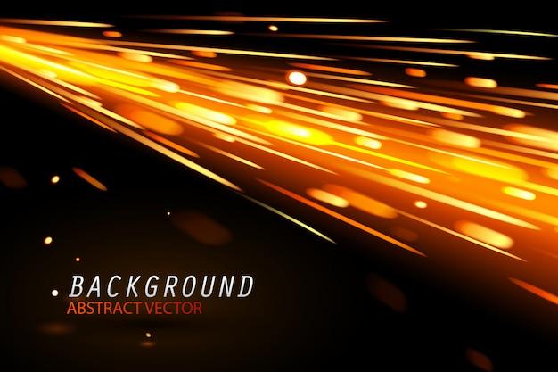 スパークグローブの特殊効果と背景 Premiumベクター