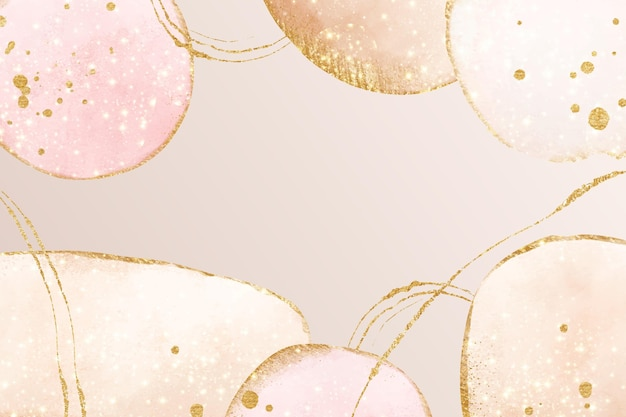 Abstract oily background light pink Free Vector
