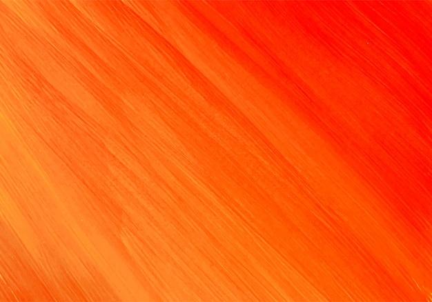 Абстрактный оранжевый акварельный фон Бесплатные векторы