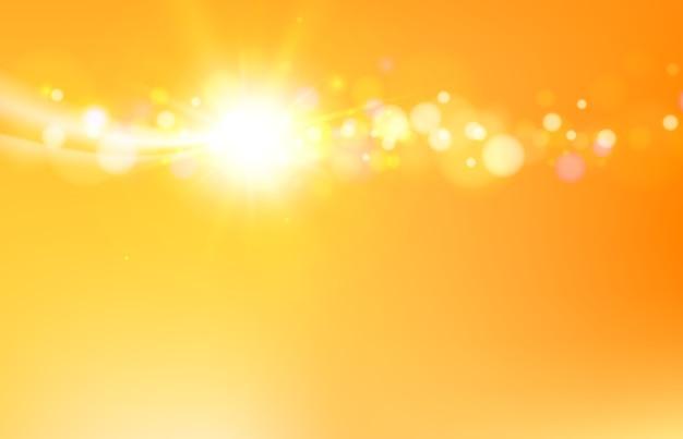 Абстрактный фон оранжевые волны с плавными линиями Бесплатные векторы