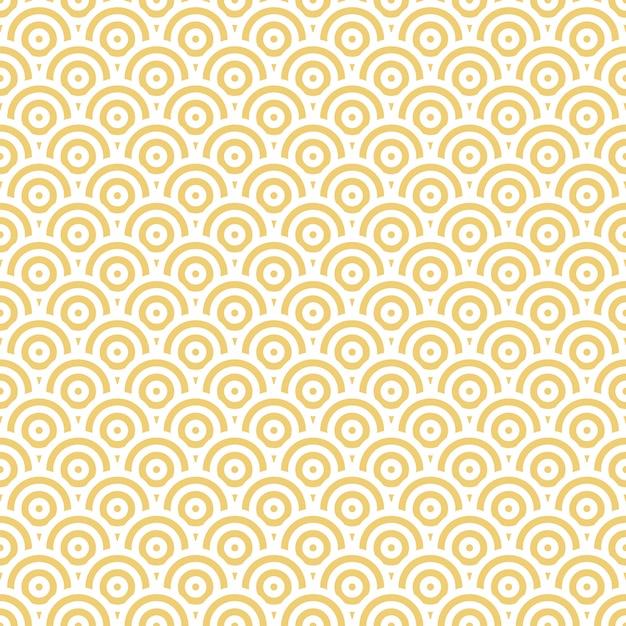 Abstract oriental seamless pattern Premium Vector