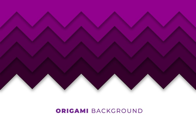 Abstract origami background Free Vector