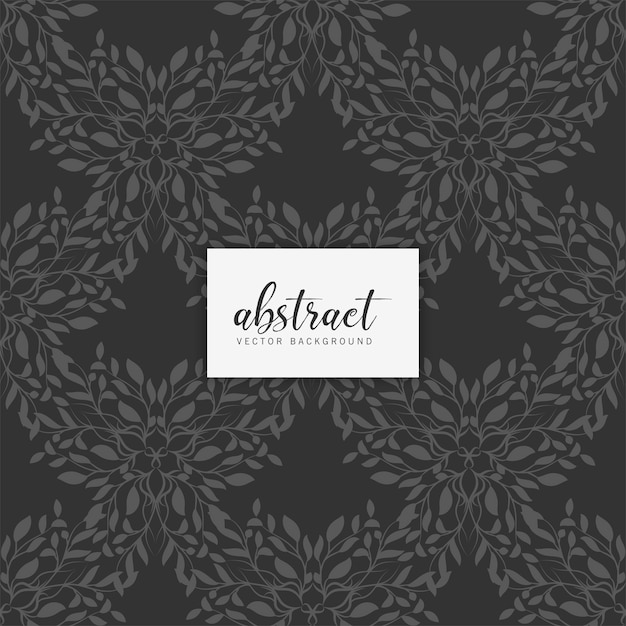 Abstract ornamental seamless pattern Free Vector