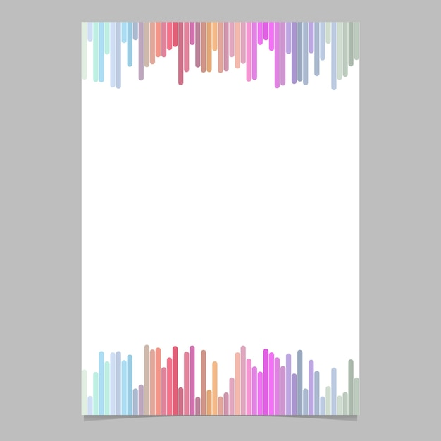 abstract page template from vertical stripes