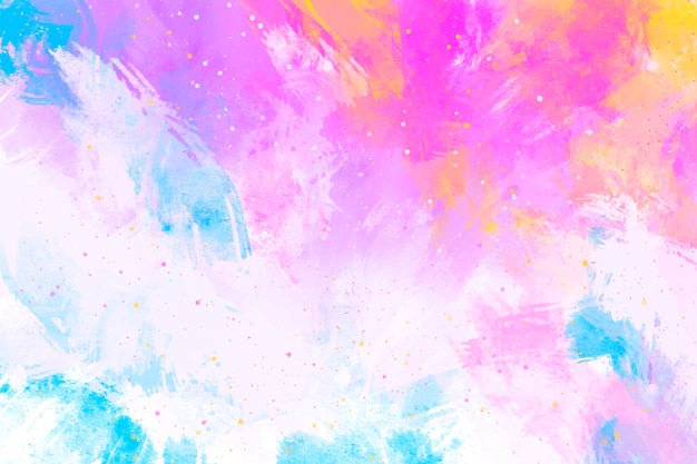 Abstract painted background Free Vector