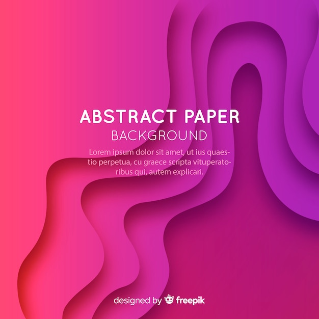 Abstract paper background Premium Vector