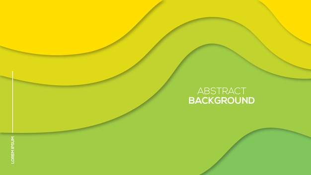 Abstract paper cut 3d background Premium Vector